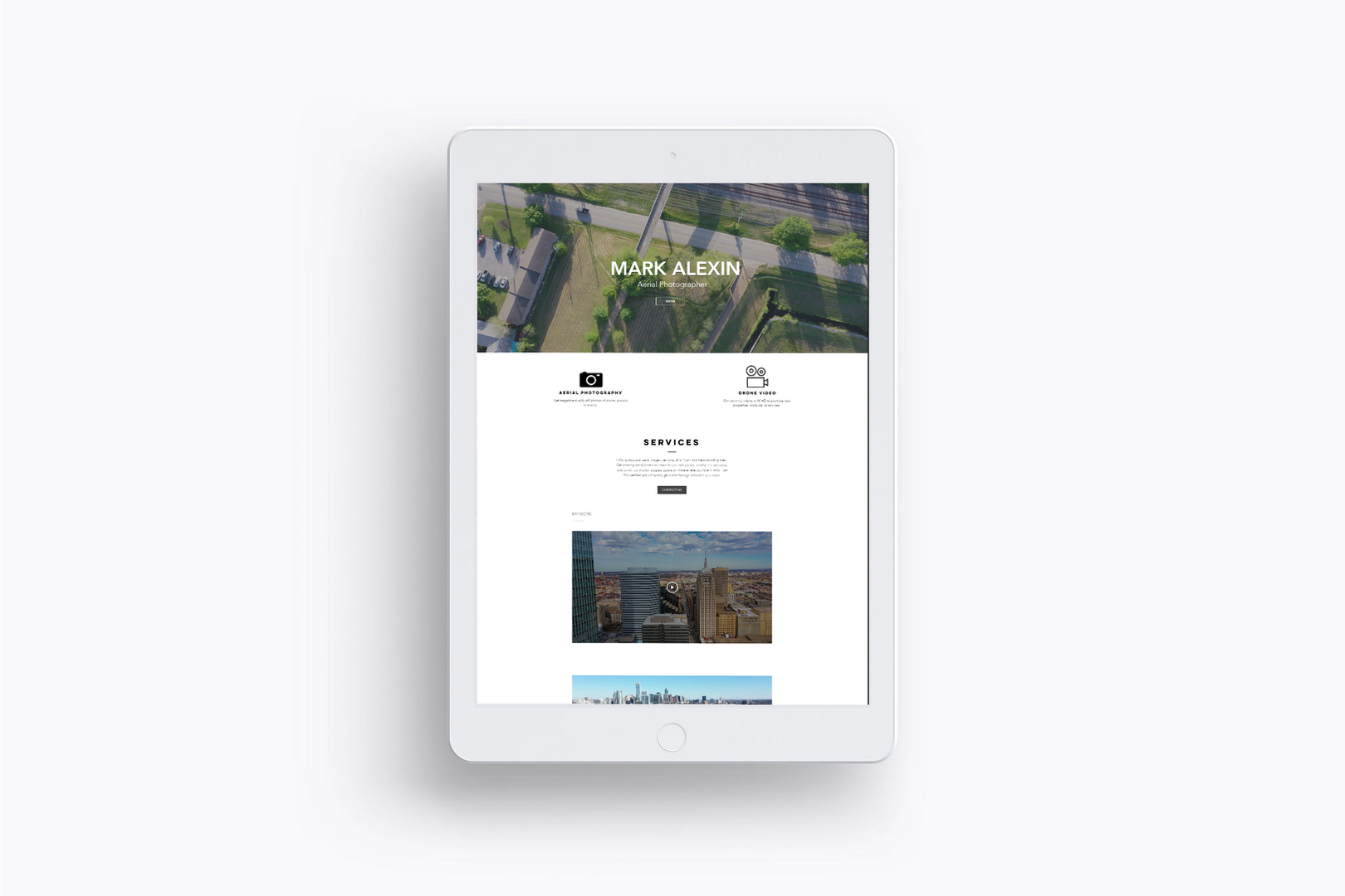 Alexin Drones tablet_ wix_four eyes media