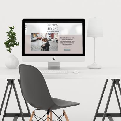 Four Eyes Media- Wix Website Design- Template