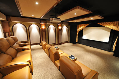Custom Home Cinema - Orlando Fl