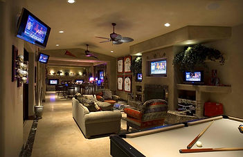 Residential Sports Bar Addition