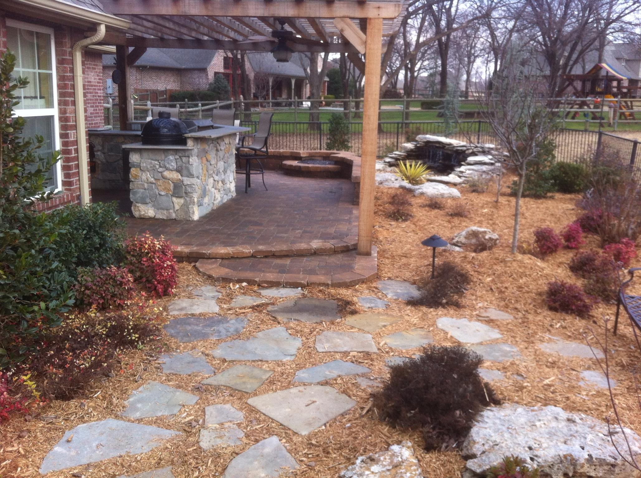 professional landscaping tulsa, brok