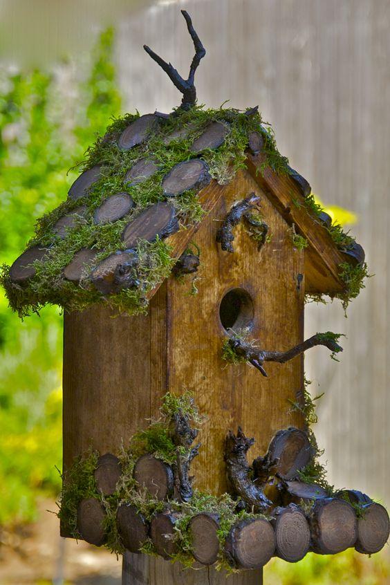 Een dromerig vogelhuisje waar ook fantasiewezens welkom zijn