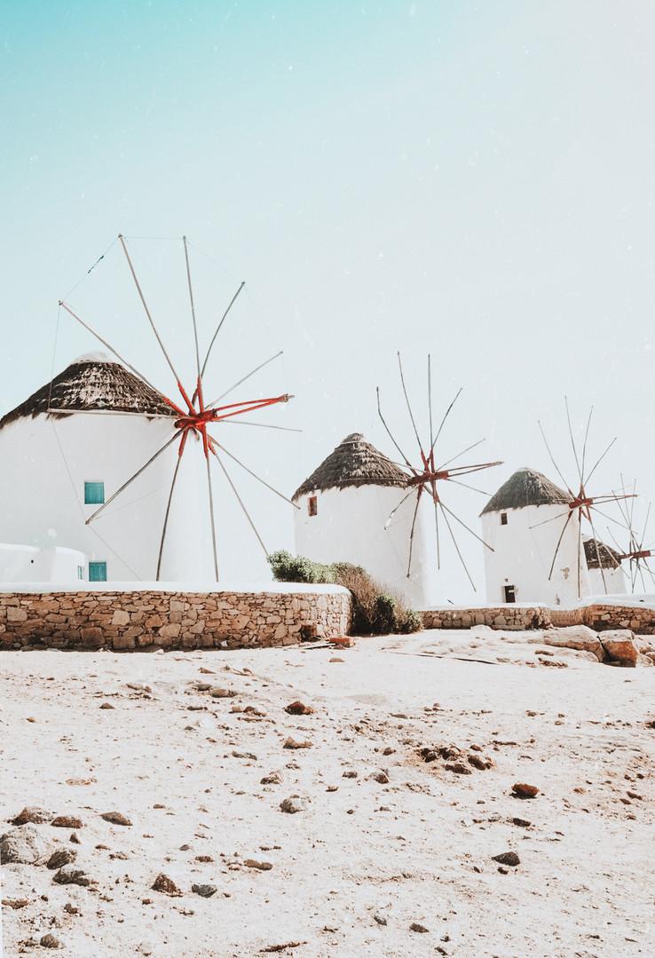 Windmills of Mykonos, Greece #25