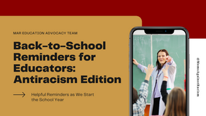 Back-to-School Reminders for Educators: Antiracism Edition