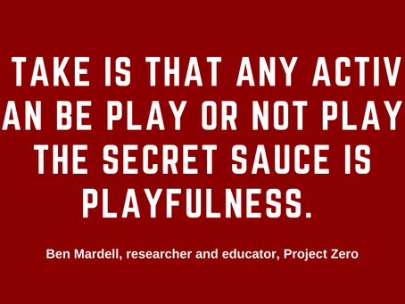 Include Play in Your Anti-Racism Journey.