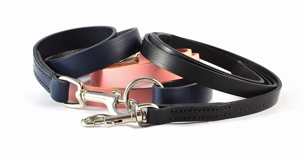 Classic Leather Clip Leads