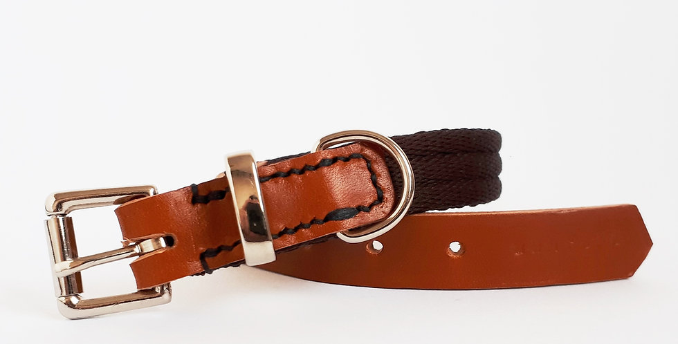 Airweb & Leather Buckle Collars: 'Country Classics'