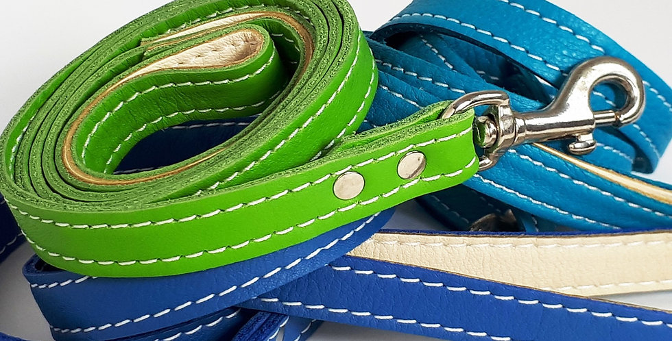 Soft Leather Clip Leads