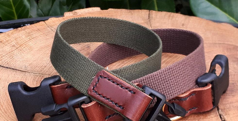 Cotton Webbing Clip Collars