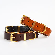 Classic Leather Buckle Collars - Traditi