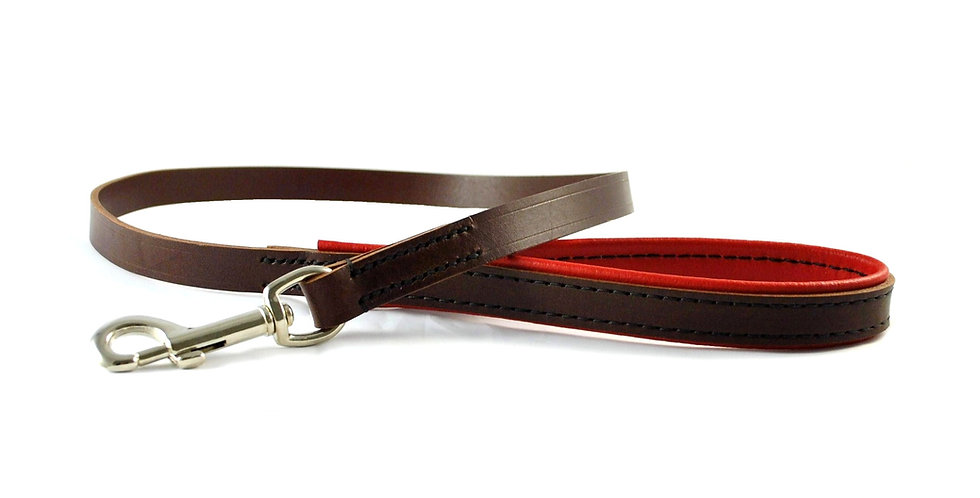 Padded Leather Clip Leads