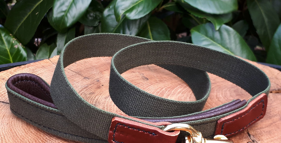 Padded Cotton Web Clip Leads