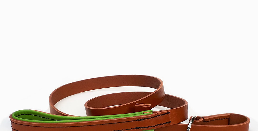 Padded Leather Slip Leads