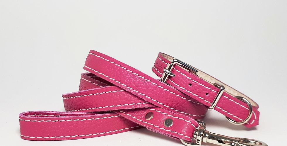 Soft Leather Set: Rose pink
