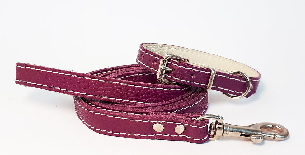 Soft Leather Set: Mulberry