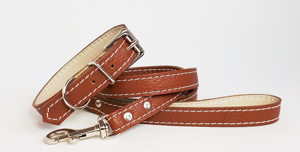 Soft Leather Set: Tan