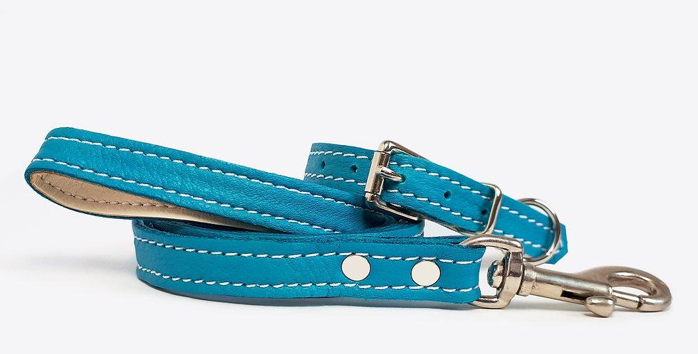 Soft Leather Set: Turquoise