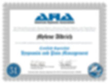 certificate - Hypnosis and Pain Manageme