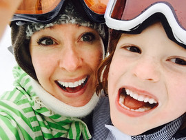 Skiing with my Son