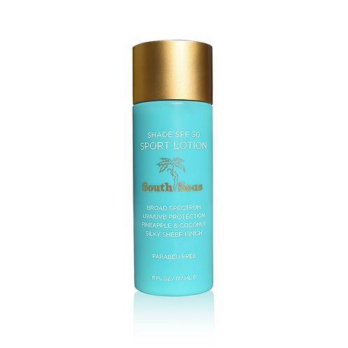 South Seas Shade SPF 30 Sport Lotion