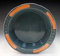 Porcelain Pie Plate ceramic art