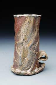 Woodfired Wavy Basket ceramic art