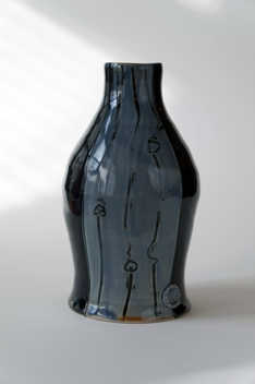 Porcelain Bottle ceramic art