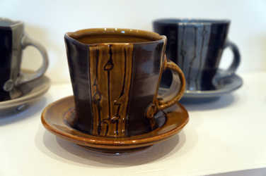 Porcelain Mug and Saucer Sets ceramic art