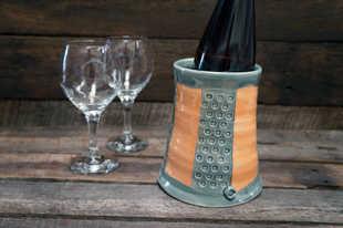 Porcelain Wine Chiller ceramic art