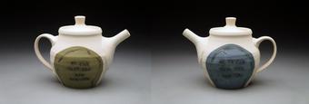 Afternoon Tea ceramic art