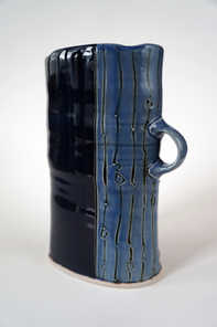 Porcelain Flower Basket ceramic art