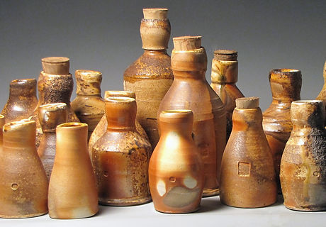 Bottle City ceramic bottles