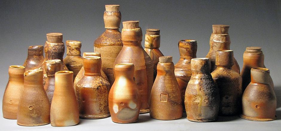 Bottle City porcelain bottles