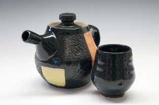 Porcelain Teapot and Cup Set ceramic art