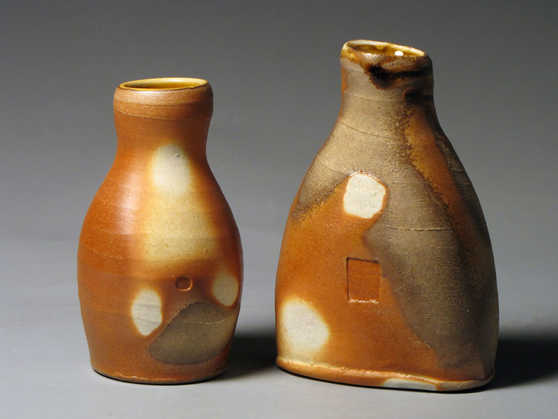 Woodfire Bottle Partners Ceramic