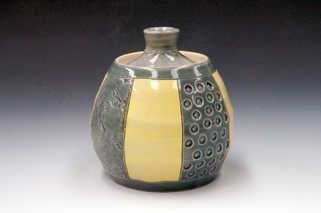Porcelain Lidded Jar ceramic art