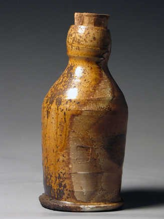 Woodfire Bottle Ceramic