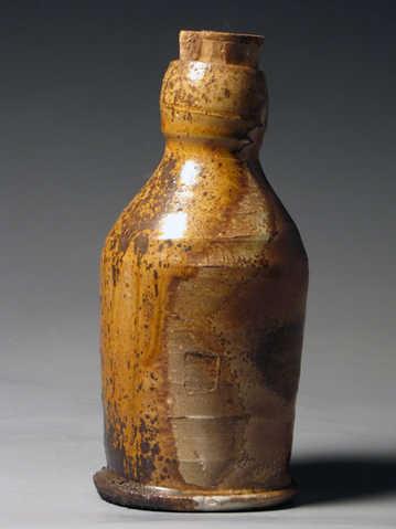Woodfire Bottle Ceramic