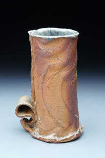 Woodfired Lily Vase ceramic art