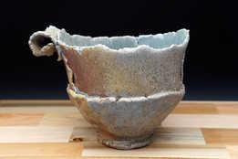 Large Woodfired Teacup ceramic art