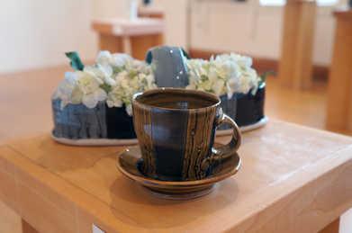 Porcelain Mug and Saucer Set ceramic art