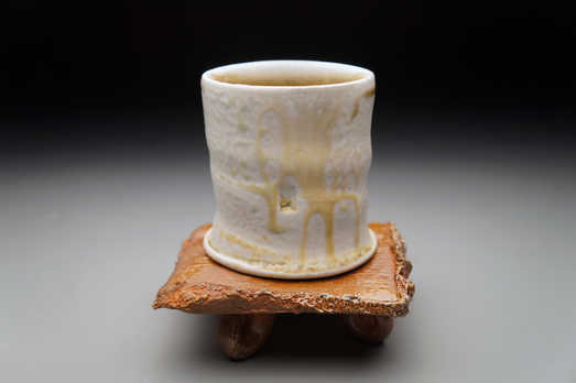 Cup and Chair ceramic art