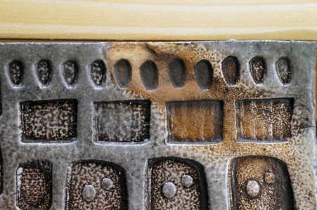 Routine Compared ceramic art detail