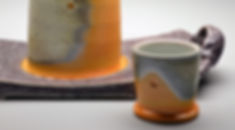 Carbide Bottle Set ceramic art