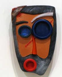 I've Seen Better Days ceramic art