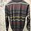 Thumbnail: PAUL&SHARK: Pull half-zip, rayé gris, pure laine 82311