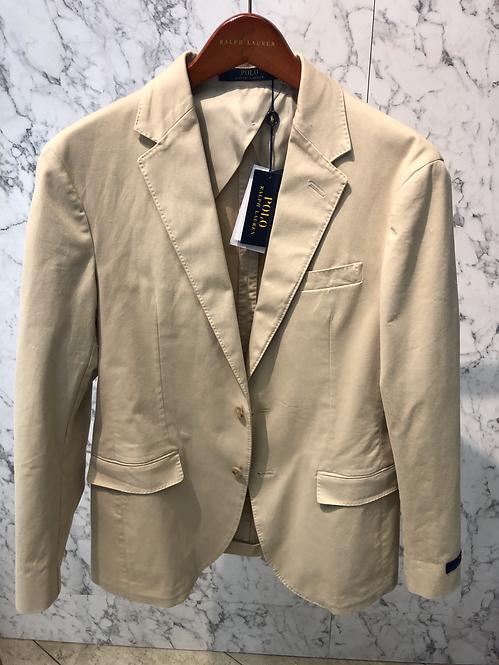 POLO RALPH LAUREN: Veston Blazer, cotton stretch, non doublé, beige, 02265b