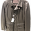 Thumbnail: ARMANI: Veste en CUIR d'agneau, Made in Italy, marron 12172