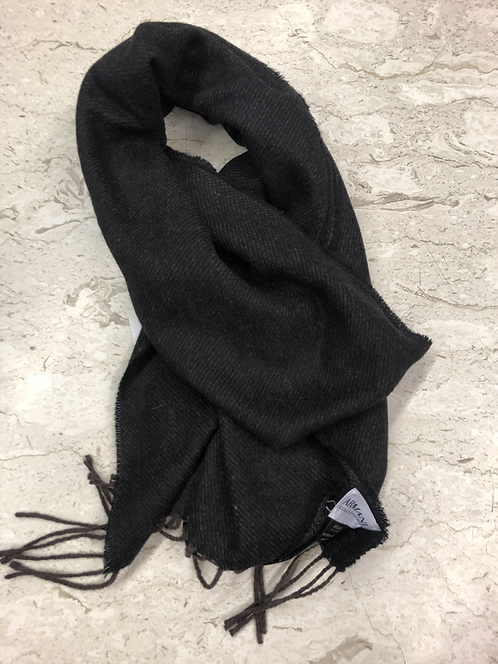 ARMANI: Echarpe en cashmere, brun&noir 22204c
