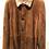 Thumbnail: EXCELSIOR: Mouton retourné, soft ,velours lisse, cognac 22145
